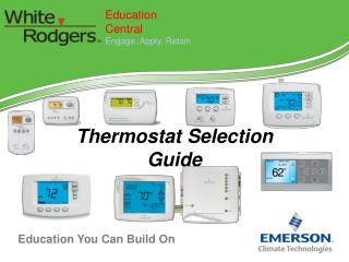 Thermostat  Selection Guide