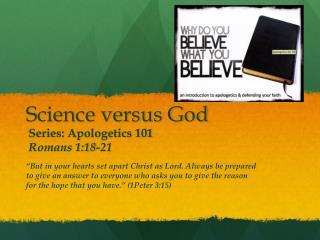Science versus God