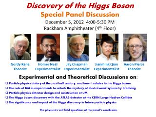 Experimental and Theoretical Discussions on :