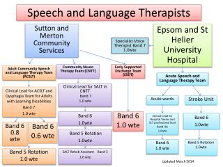 Speech and Language Therapists
