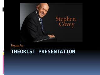 Theorist Presentation