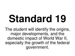 Standard 19