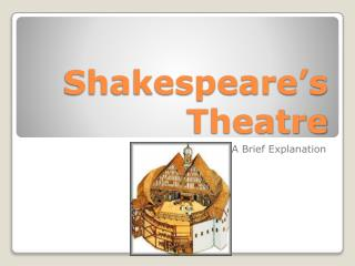 Shakespeare's Theatre