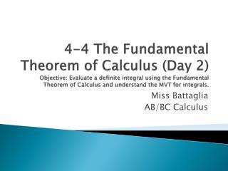 Miss  Battaglia AB/BC Calculus