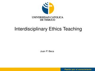 Interdisciplinary Ethics Teaching