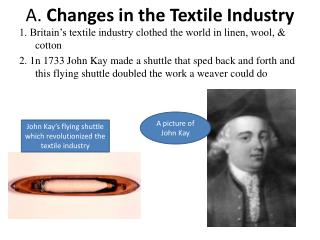 A.  Changes in the Textile Industry
