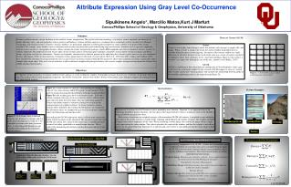 Attribute Expression Using Gray Level Co-Occurrence