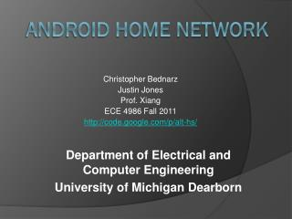 Android Home Network