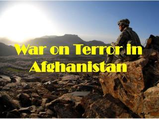 War on Terror in Afghanistan