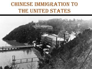 Chinese Immigration to the United States