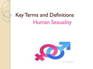 Key Terms and Definitions