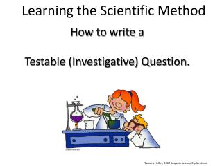 Learning the Scientific Method