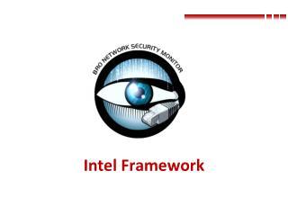 Intel Framework