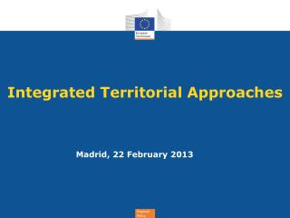 Integrated  Territorial  Approaches