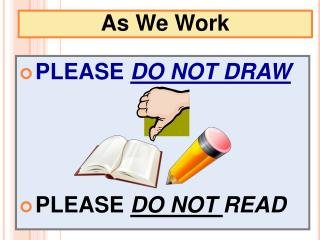 As We Work