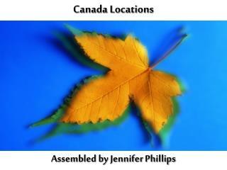Canada Locations