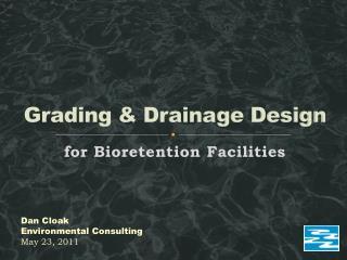 Grading & Drainage Design