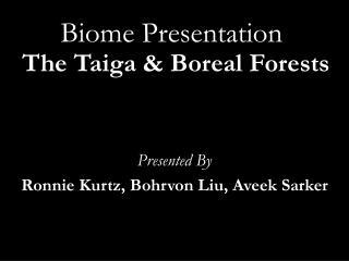 Biome Presentation