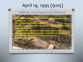 April 19, 1995 (9:05)