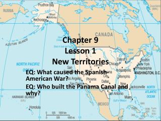 Chapter 9  Lesson 1 New Territories