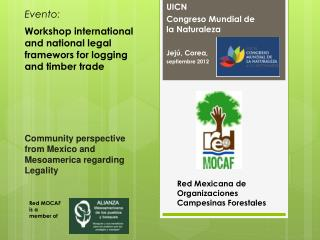 Community perspective from Mexico  and  Mesoamerica regarding Legality