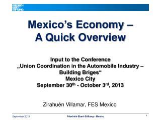 Zirahuén Villamar, FES  Mexico