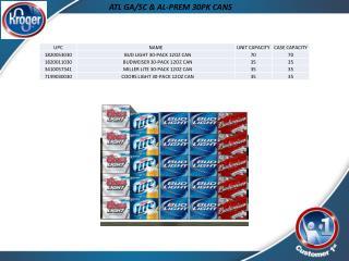 ATL GA/SC & AL-PREM 30PK CANS