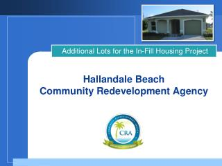 Hallandale Beach Community Redevelopment Agency