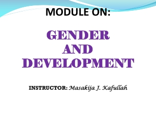 Mechanisms and successful areas of integration and implementation of CEDAW at the national level, identification of obs