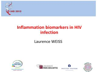 Inflammation biomarkers in HIV infection