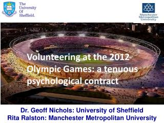 Volunteering at the 2012 Olympic Games: a tenuous psychological contract