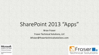 "SharePoint 2013 ""Apps"""