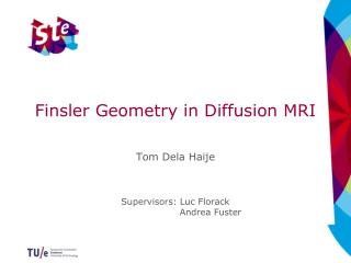 Finsler  Geometry in Diffusion MRI