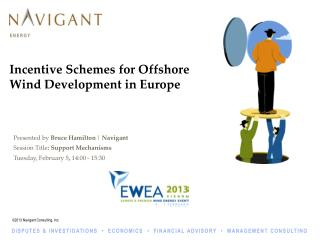 Incentive Schemes for Offshore Wind Development in Europe
