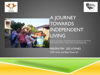 A journey towards independent living