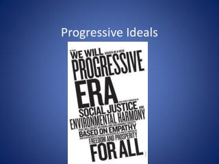 Progressive Ideals
