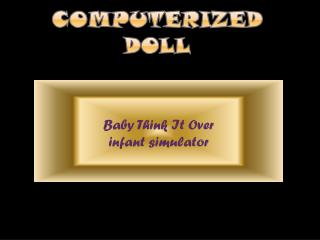 Computerized doll
