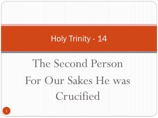 Holy Trinity - 14