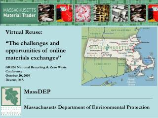 MassDEP Massachusetts Department of Environmental Protection