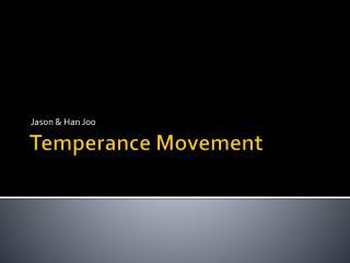 T emperance  M ovement
