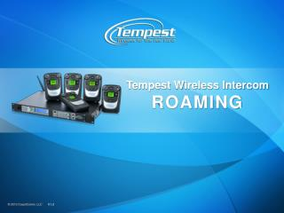 Tempest Wireless Intercom ROAMING
