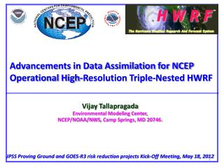Advancements in Data Assimilation for NCEP Operational High-Resolution Triple-Nested HWRF