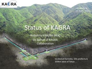 Status of KAGRA