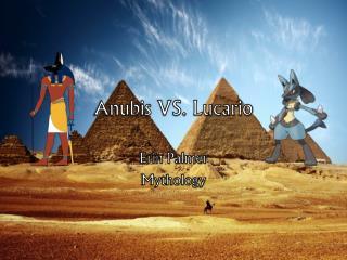 Anubis VS. Lucario