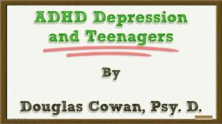 ppt 40031 ADHD Depression and Teenagers