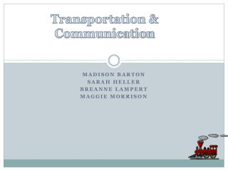Transportation & Communication