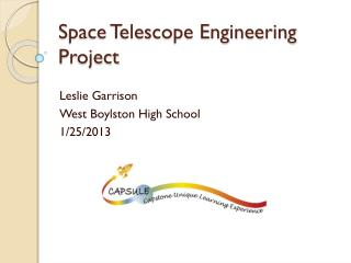 Space Telescope Engineering Project