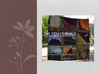 The 7 Days Quilt