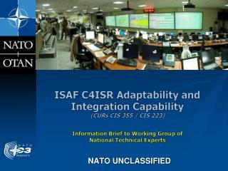 NATO UNCLASSIFIED