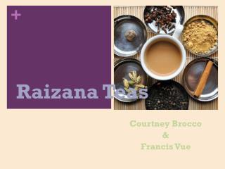 Raizana Teas
